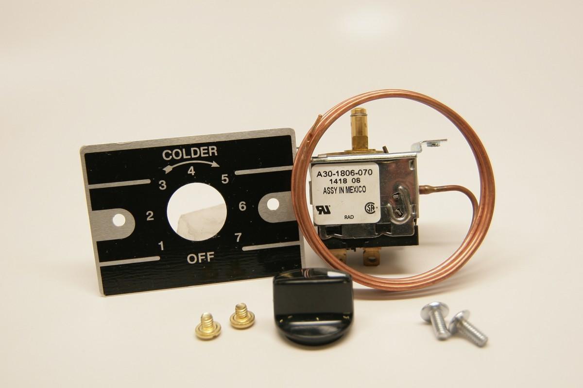 Thermostats / Traulsen Temperature Control Refrigerator 324 12455 00 #A78524