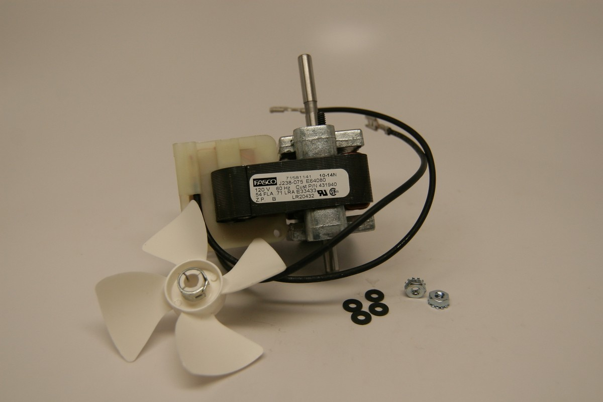 Replacement Hobart Fan Motor With Blade 431958 Hobart