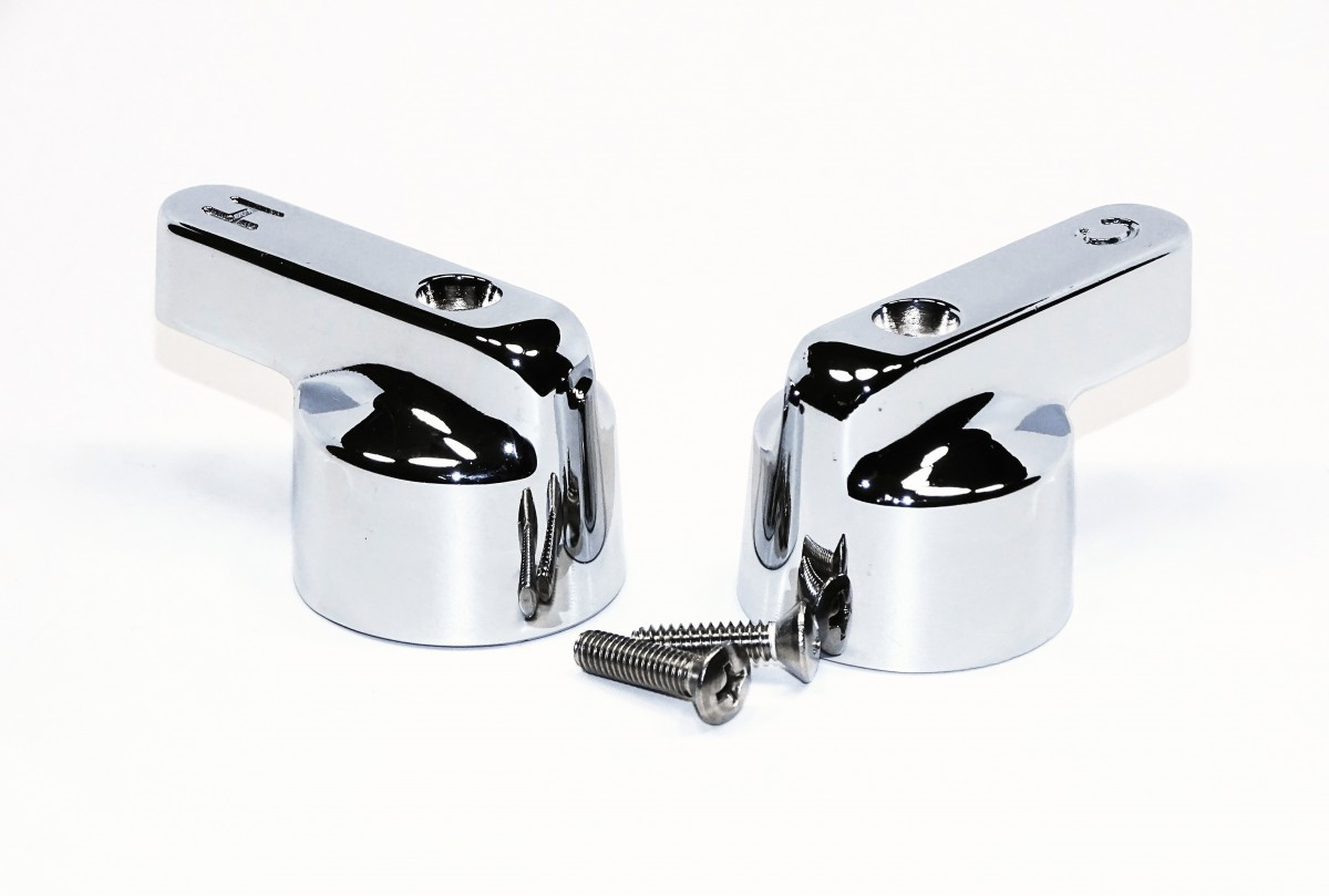Replacement Perlick Hot And Cold Handles With Screws 43714 Perlick Refrigeration Faucets