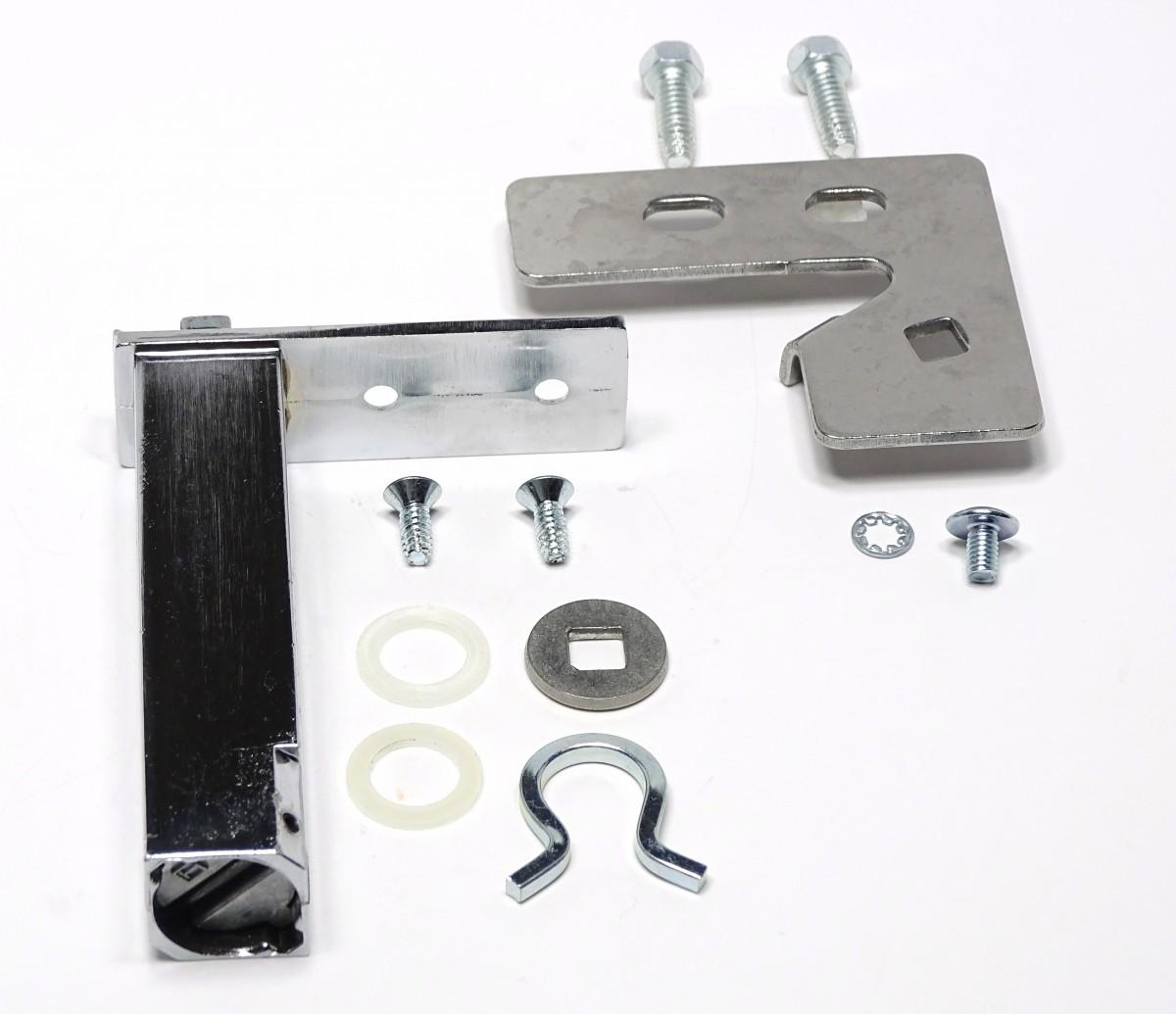 true door hinge assembly top left