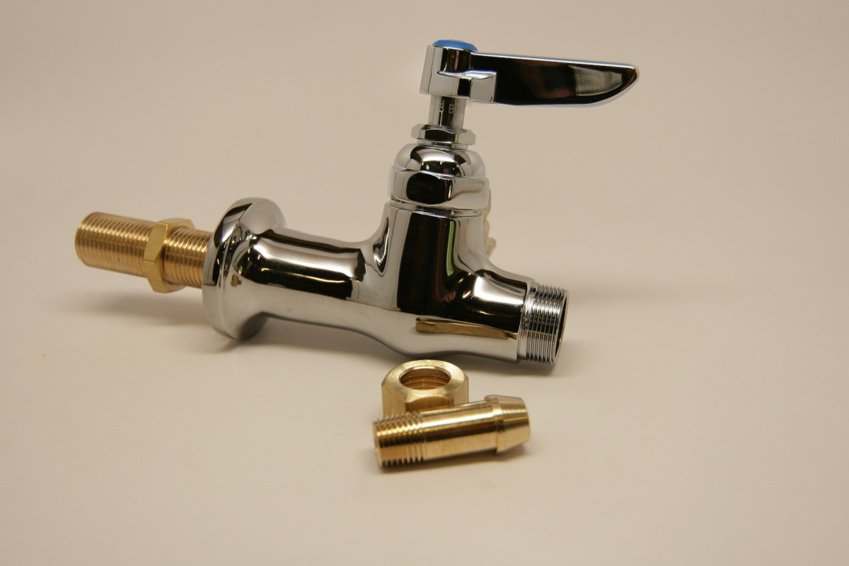 Replacement T&S Brass Single Pantry Swivel Base Faucet, B-205-LN ...